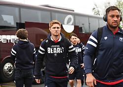 Nic Stirzaker of Bristol Bears arrive at Kingston Park - Mandatory by-line: Richard Lee/JMP - 18/05/2019 - RUGBY - Kingston Park Stadium - Newcastle upon Tyne, England - Newcastle Falcons v Bristol Bears - Gallagher Premiership Rugby