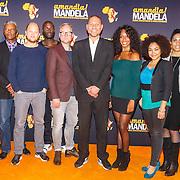 NLD/Amsterdam/20151026 - perspresentatie musical Amandla! Mandela , Castfoto