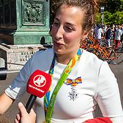 NLD/Den Haag/20160824 - Huldiging sport Rio 2016, judoka Edith Bosch