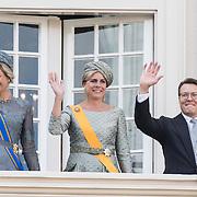 NLD/Den Haag/20170919 - Prinsjesdag 2017, Koningin Maxima en Prinses Laurentien en Prins Constantijn