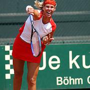 NLD/Hilversum/20050528 - Eredivisie tennis 2005, Melkhuisje - Groenekan, Brenda Schultz - Kveta Peschke, Brenda Schultz