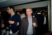 JAMES LINGWOOD, Cindy Sherman exhibition. Spruth Magers, London. Grafton st. London. Afterwards at Bellamy's, Bruton Place. 15 April 2009.<br /> JAMES LINGWOOD, Cindy Sherman exhibition. Spruth Magers, London. Grafton st. London. Afterwards at Bellamy's, Bruton Place. 15 April 2009.  *** Local Caption *** -DO NOT ARCHIVE-© Copyright Photograph by Dafydd Jones. 248 Clapham Rd. London SW9 0PZ. Tel 0207 820 0771. www.dafjones.com.