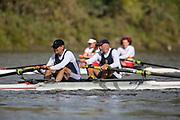 Crew: 49 - Adams / Metzger - Putney Town Rowing Club - Op MasE/G 2- <br /> <br /> Pairs Head 2020