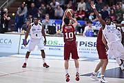 DESCRIZIONE : Campionato 2014/15 Serie A Beko Dolomiti Energia Aquila Trento - Umana Reyer Venezia<br /> GIOCATORE : Michele Ruzzier<br /> CATEGORIA : Tiro Tre Punti Three Point Controcampo<br /> SQUADRA : Umana Reyer Venezia<br /> EVENTO : LegaBasket Serie A Beko 2014/2015<br /> GARA : Dolomiti Energia Aquila Trento - Umana Reyer Venezia<br /> DATA : 26/12/2014<br /> SPORT : Pallacanestro <br /> AUTORE : Agenzia Ciamillo-Castoria/GiulioCiamillo<br /> Galleria : LegaBasket Serie A Beko 2014/2015