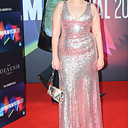Amel Rachedi arrives at The Souvenir Part II - BFI London Film Festival 2021 at Southbank Centre, Royal Festival Hall, London, 8 October 2021.Souvenir Part II - BFI London Film Festival 2021 at Southbank Centre, Royal Festival Hall, London, 8 October 2021.