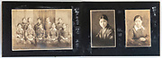students from a teacher education school photo album Japan ca 1927