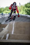#297 (DE FREITAS CARDOSO Bruno) POR at Round 5 of the 2019 UCI BMX Supercross World Cup in Saint-Quentin-En-Yvelines, France