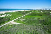 Hoogtefoto van de duinen bij Den Haag achter de Laan van Poot - Altitude photography in the dunes of The Hague
