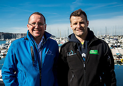 Martin Hvastija and Andrej Hauptman during the UCI Class 1.2 professional race 4th Grand Prix Izola, on February 26, 2017 in Izola / Isola, Slovenia. Photo by Vid Ponikvar / Sportida