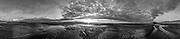 Nederland, Zeeland, Cadzand-Bad, 19-03-2019; monding van Het Zwin in de avondschemering.<br /> Estuary of Het Zwin in twilight.<br /> <br /> Gigapanorama (digital montage). <br /> <br /> copyright © 2019 foto/photo Siebe Swart