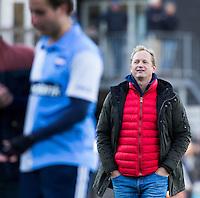 BLOEMENDAAL - HOCKEY - Hurley coach Simon Organ  na  de hoofdklasse competitie wedstrijd tussen de mannen van Bloemendaal en Hurley (1-1) . COPYRIGHT KOEN SUYK