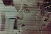 2005 British Indoor Rowing Championships, Sarah Winchkless, picture on the big screen. National Indoor Arena, Birmingham, ENGLAND,    20.11.2005  [Mandatory Credit Peter Spurrier/ Intersport Images]
