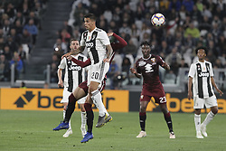 May 3, 2019 - Turin, Piedmont, Italy - Joo Cancelo (Juventus FC) in action during the Serie A football match between Juventus FC and Torino FC at Allianz Stadium on May 03, 2019 in Turin, Italy..Final results: 1-1. (Credit Image: © Massimiliano Ferraro/NurPhoto via ZUMA Press)