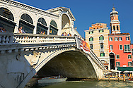 The Rialto Bridge, Venice Italy .<br /> <br /> Visit our ITALY HISTORIC PLACES PHOTO COLLECTION for more   photos of Italy to download or buy as prints https://funkystock.photoshelter.com/gallery-collection/2b-Pictures-Images-of-Italy-Photos-of-Italian-Historic-Landmark-Sites/C0000qxA2zGFjd_k