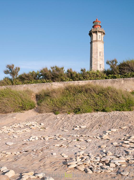 Phare des Baleines, Lighthouse at Le Gillieux, Île de Ré, France