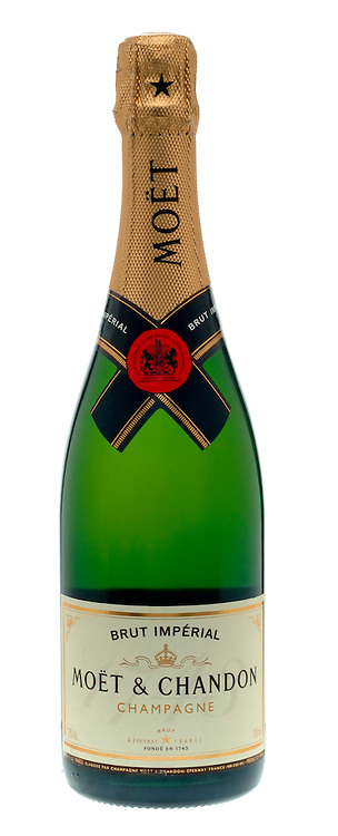 Bottle of Moet & Chandon Champagne