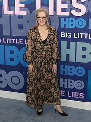 May 29, 2019 - New York, New York, United States - Meryl Streep wearing dress by Oscar de la Renta attends HBO Big Little Lies Season 2 Premiere at Jazz at Lincoln Center  (Credit Image: © Lev Radin/Pacific Press via ZUMA Wire)