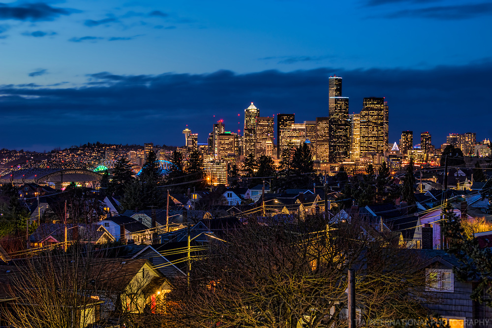 Blue Hour from Beacon Hill