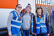 Here to Help volunteers at Luton Town ahead of the EFL Sky Bet League 1 match between Luton Town and Coventry City at Kenilworth Road, Luton, England on 24 February 2019.