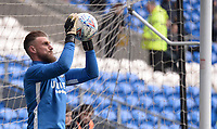 Preston North End's Declan Rudd during the pre-match warm-up <br /> <br /> Photographer Ian Cook/CameraSport<br /> <br /> The EFL Sky Bet Championship - Cardiff City v Preston North End - Saturday 21st December 2019 - Cardiff City Stadium - Cardiff<br /> <br /> World Copyright © 2019 CameraSport. All rights reserved. 43 Linden Ave. Countesthorpe. Leicester. England. LE8 5PG - Tel: +44 (0) 116 277 4147 - admin@camerasport.com - www.camerasport.com