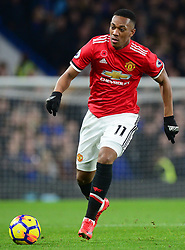 Anthony Martial of Manchester United - Mandatory by-line: Alex James/JMP - 05/11/2017 - FOOTBALL - Stamford Bridge - London, England - Chelsea v Manchester United - Premier League
