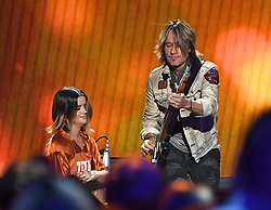 Artists perform during the 2018 iHeartCountry Festival. 05 May 2018 Pictured: Maren Morris and Keith Urban. Photo credit: MBS/MEGA TheMegaAgency.com +1 888 505 6342