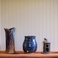070315       Cable Hoover<br /> <br /> Peter McCabe's finished ceramic works are available to purchase at his Gallery in Candy Kitchen.
