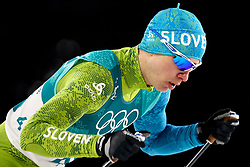 PYEONGCHANG-GUN, SOUTH KOREA - FEBRUARY 14: Marjan Jelenko of Slovenia competes during the Nordic Combined Individual Gundersen Normal Hill and 10km Cross Country on day five of the PyeongChang 2018 Winter Olympics at Alpensia Cross-Country Centre on February 14, 2018 in Pyeongchang-gun, South Korea.  Photo by Kim Jong-man / Sportida