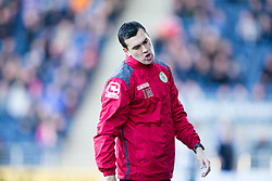 St Mirren's manager Iain Murray. <br /> Falkirk 3 v 0 St Mirren. Scottish Championship game played 21/10/2015 at The Falkirk Stadium.