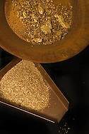 Gold dust and nuggets from the Dawson region of the Yukon.<br /> <br /> NOT IN YOUR BUDGET? Contact Cathie for a price specific to your project.