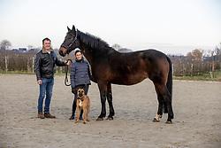 Van Lombergen Dany, Van Laenen Kim, Gitania van 't Eigenlo<br /> Stoeterij Van 't Eigenlo - Sint Gillis Waas 2021<br /> © Hippo Foto - Dirk Caremans<br /> 23/01/2021