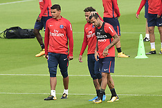 Training for PSG - St Germain En Laye, France - 11 Aug 2017