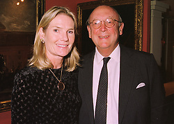 MR CHRISTOPHER & LADY MARY GAYE SHAW at a reception in London on 11th June 1998.MIG 27
