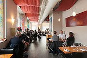Busy lunch time at Play Food & Wine restaurant, 1 York St., Ottawa