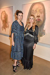 12 December 2019 - Martha Freud and Katie Cook at a private view of Lethe by Henrik Uldalen at JD Malat Gallery. 30 Davies Street, London.<br /> <br /> Photo by Dominic O'Neill/Desmond O'Neill Features Ltd.  +44(0)1306 731608  www.donfeatures.com
