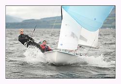 470 Class European Championships Largs - Day 4..IRL83, Diana KISSANE, Saskia TIDEY, Royal Irish Yacht Club