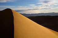 High Dune And Mountains, Death Valley National Park, California