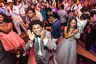 Graduating seniors dance at the Astor Collegiate Academy senior prom. (For Steven Rosen Photography)