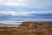 Dead Sea, Israel view from the Judaea Desert