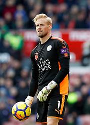Leicester City goalkeeper Kasper Schmeichel