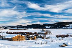 Jack Creek Ranch, Bondurant, Wyoming.