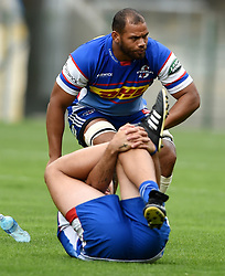 Cape Town-180419 Stomers  Nizaam Carr  at training before their Super Rugby game against the  Sharks in Durban this coming weekend..photograph:Phando Jikelo/African News Agency/ANA
