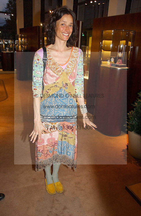 The MARCHIONESS OF WORCESTER at a party to celebrate 100 years of Chinese Cinema hosted by Shangri-la Hotels and Tartan Films at Asprey, New Bond Street, London on 25th April 2006.<br /><br />NON EXCLUSIVE - WORLD RIGHTS
