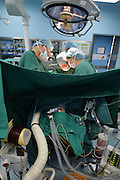 WUHAN, CHINA - APRIL 02: (CHINA OUT) <br /> <br /> 7-year-old Boy Donates Kidney To His Mother After he Died<br /> <br /> Doctors perform a kidney transplant surgery between a 7-year-old son to his mother at Jingzhou City\'s Tongji Hospital on April 2, 2014, in Wuhan, Hubei Province of China. Chen Xiaotian, a 7-year-old boy died from malignant brain tumors at 4 a.m. on April 02, 2014. He donated his left kidney to his mother Zhou Lu who suffered from uremia and can only cured by a kidney transplant. Chen was diagnosed with malignant brain tumor when he was five-and-a-half years old and has lost his vision in both eyes early this year due to the exacerbation of his brain tumors. Chen also donated his right kidney to a 21-year-old woman and his liver to a 27-year-old man. The operation was both completed on Wednesday.  <br /> ©Exclusivepix