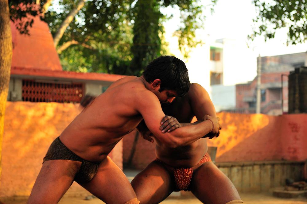 Akhara Kushti, Gari Village, run by Guru Charan Singh in Dehli India