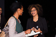 Conference guest and Brittany Turner, VP of digitla Video, Adaptive Studios