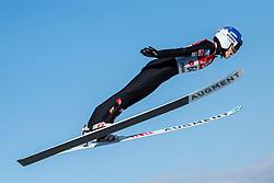 07.02.2020, Energie AG Skisprung Arena, Hinzenbach, AUT, FIS Weltcup Ski Sprung, Damen, Qualifikation, im Bild Eva Pinkelnig (AUT) // Eva Pinkelnig (AUT) during the qualification jump for the women's of FIS Ski Jumping World Cup at the Energie AG Skisprung Arena in Hinzenbach, Austria on 2020/02/07. EXPA Pictures © 2020, PhotoCredit: EXPA/ Reinhard Eisenbauer