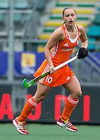 DEN HAAG - KELLY JONKER. Nederland speelt oefenwedstrijd tegen USA in het Kyocera Stadion. COPYRIGHT KOEN SUYK