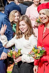 Princess Alexia attending King's Day Celebrations in Groningen, Netherlands, on April 27, 2018. Photo by Robin Utrecht/ABACAPRESS.COM
