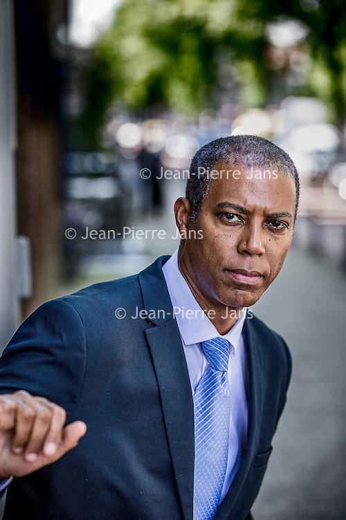Nederland, Amsterdam, 23 juni 2016.<br /> Antoin Deul, voorzitter NiNsee ( National Instituut Nederlands Slavernijverleden en Erfenis). <br /> <br /> Foto: Jean-Pierre Jans